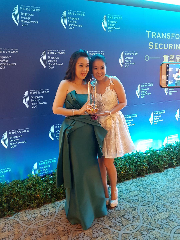 Singapore Prestige Brand Awards CEO