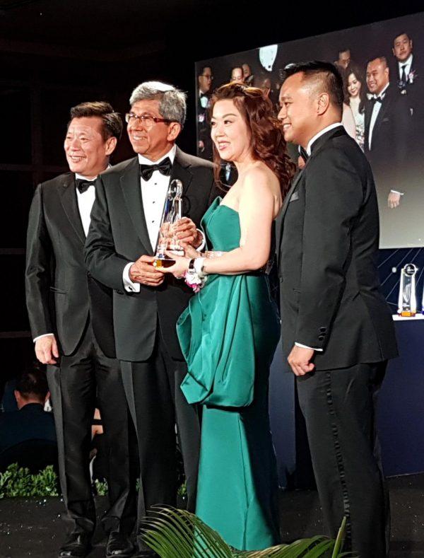 Singapore Prestige Brand Awards Ceremony